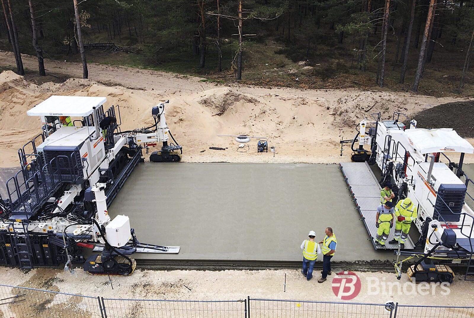 Объем уложенного бетона бетон трактовая